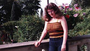 Ute ca 1982 dunkelbraun mit Rotstich