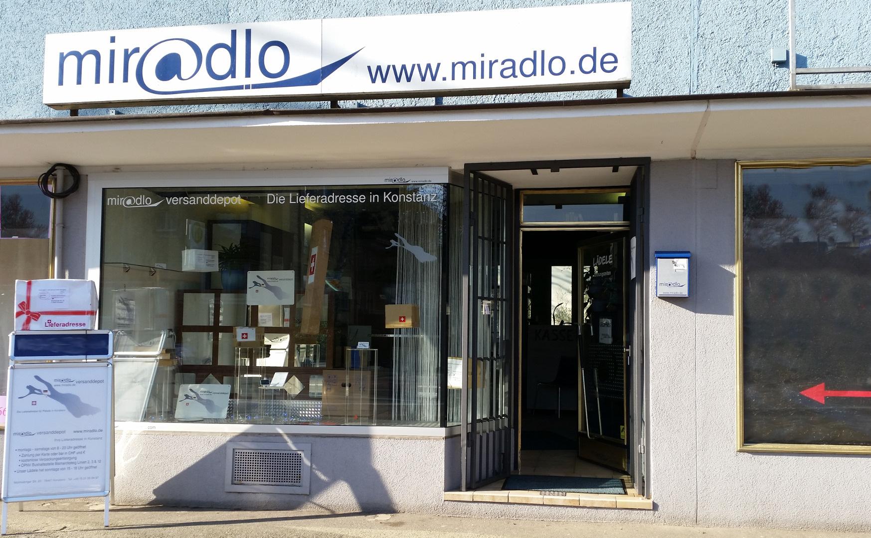 Miradlo versanddepot mo sa 8 23 uhr die lieferadresse for Depot konstanz